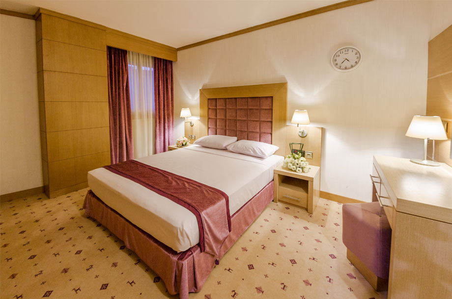 اتاق های استاندارد هتل آرمان