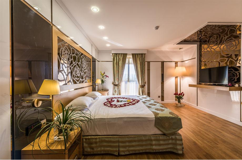 اتاق های فوق ویژه هتل آرمان